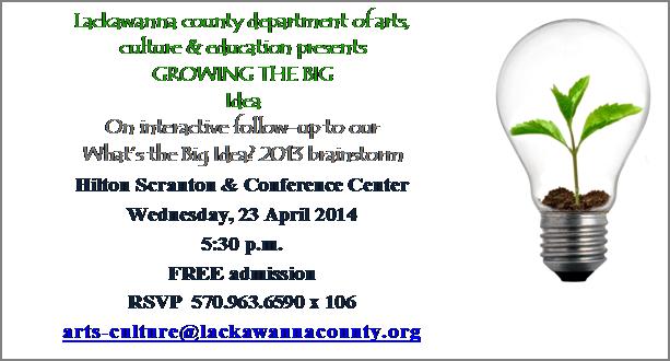 Lackawanna County - Growing the Big Idea